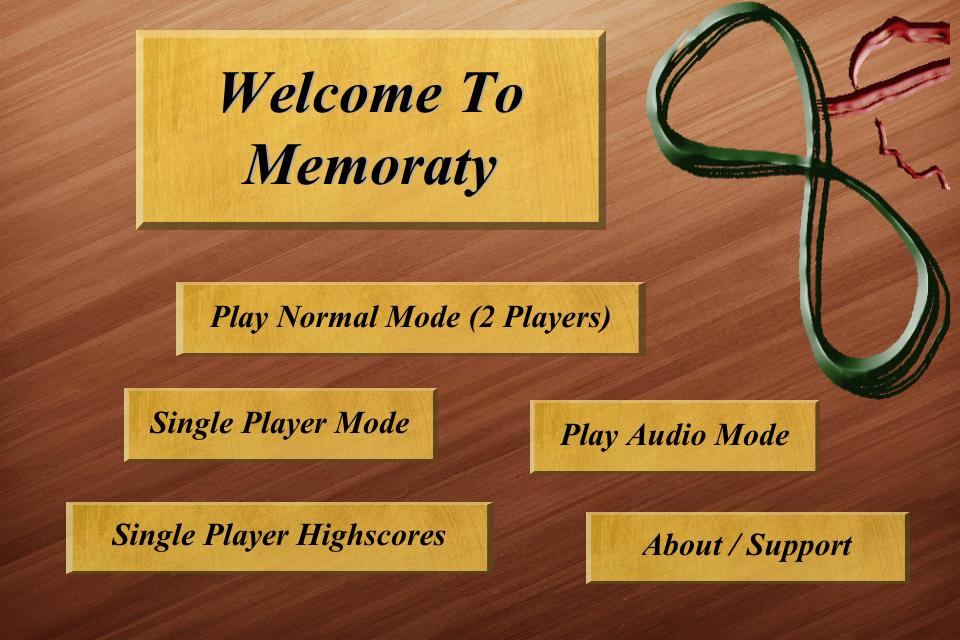 Screenshot MemoratyFree